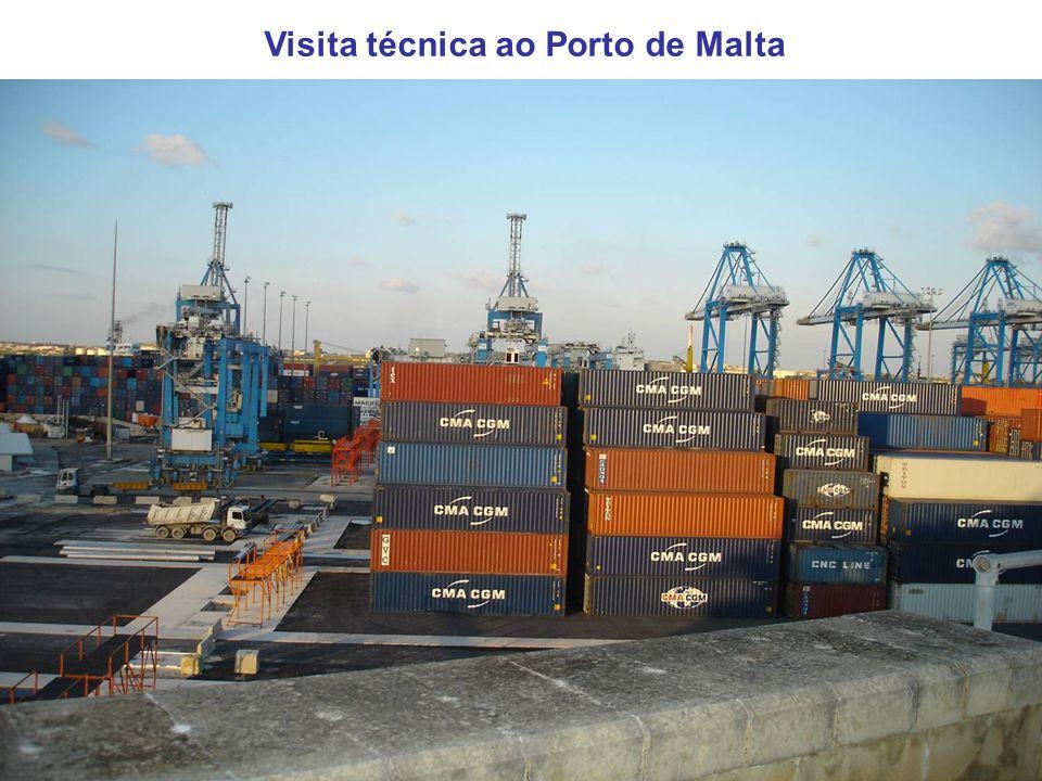 Visita técnica ao Porto de Malta