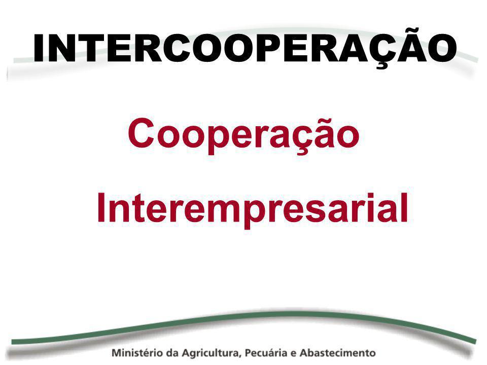 INTERCOOPERAÇÃO Cooperação Interempresarial