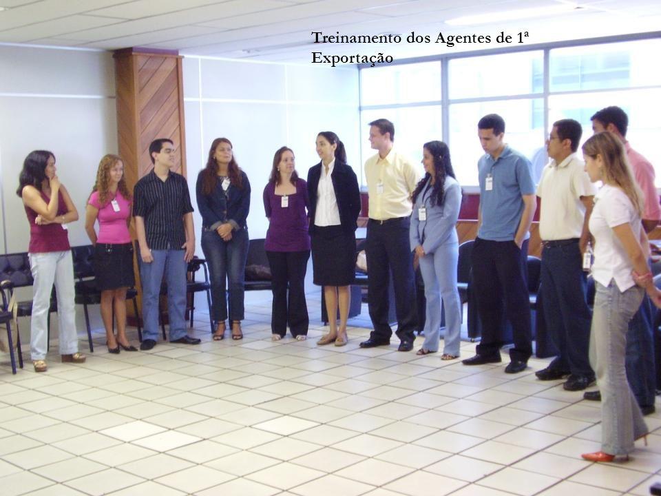 Reunião mensal com Agentes de 1ª Exportação
