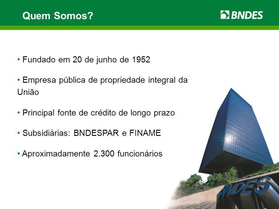 Pós-embarque – Custo Custo Financeiro Remuneração BNDES + + Comissão do Banco Mandatário 100% LIBOR + var.