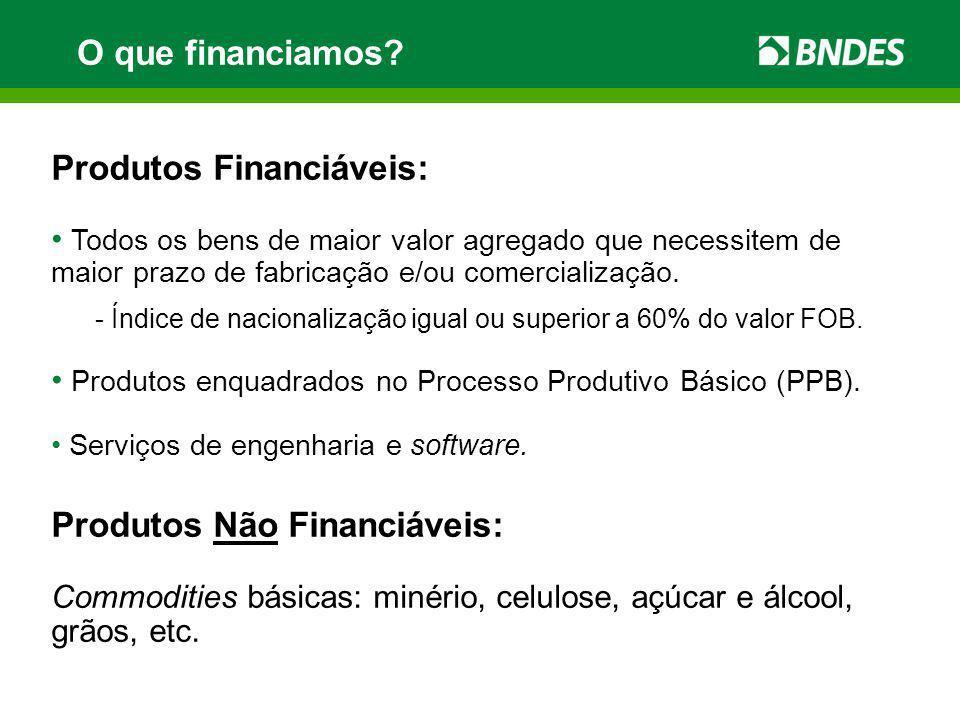 Convênio BNDES – APEX-Brasil Data de Assinatura: 14/08/2009 Vigência: até 31/12/2012 (podendo ser prorrogada) Finalidade: estabelecer a cooperação mútua entre o BNDES e a APEX-Brasil (Agência Brasileira de Promoção de Exportações e Investimentos).