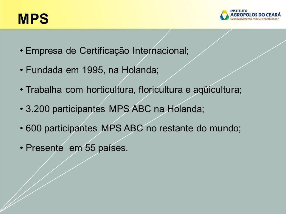 Cooperação Local; Presença em Fortaleza - CE Conhecimento da cultura, idioma e produção; Menor custo; Trabalho junto a cadeia; Reconhecimento nos principais mercados.