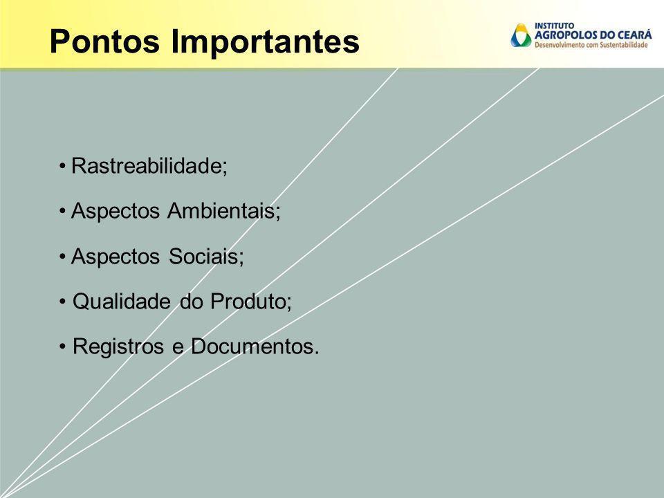 Maior eficiência da propriedade, por meio do controle de qualidade dos processos produtores; Instrumentos para melhorar o gerenciamento da propriedade; Diferencial frente a concorrência; Instrumento de divulgação para o mercado da qualidade da produção; Possibilidade de conquistar novos clientes.