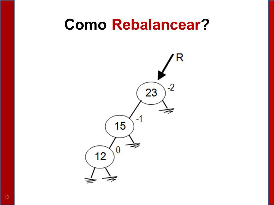 13 Como Rebalancear?