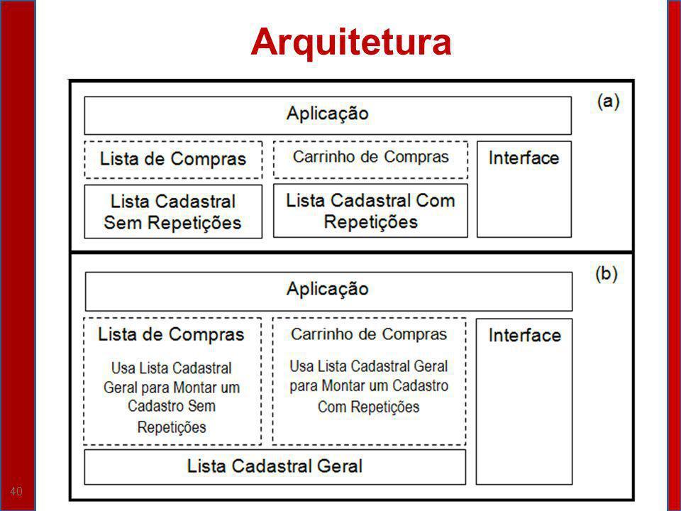 40 Arquitetura