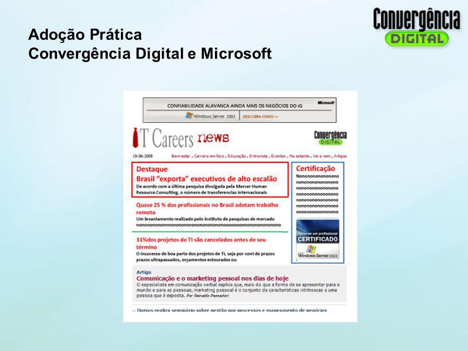 Adoção Prática Convergência Digital e Microsoft