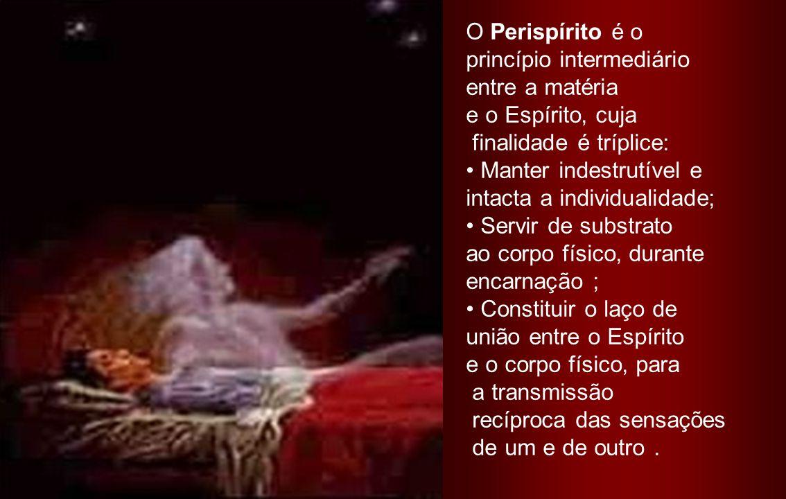 Corpo Astral ou Perispírito Perispírito (do grego = em torno de) É o envoltório sutil e perene do espírito, quepereneespírito possibilita sua interação com o meio espiritual e físico.