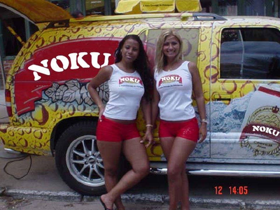 NOKU NOKU Onde quer que você esteja, mesmo nos lugares mais difíceis, tome NOKU. E lembre-se! - «Pessoa sadia toma NOKU todo o dia».