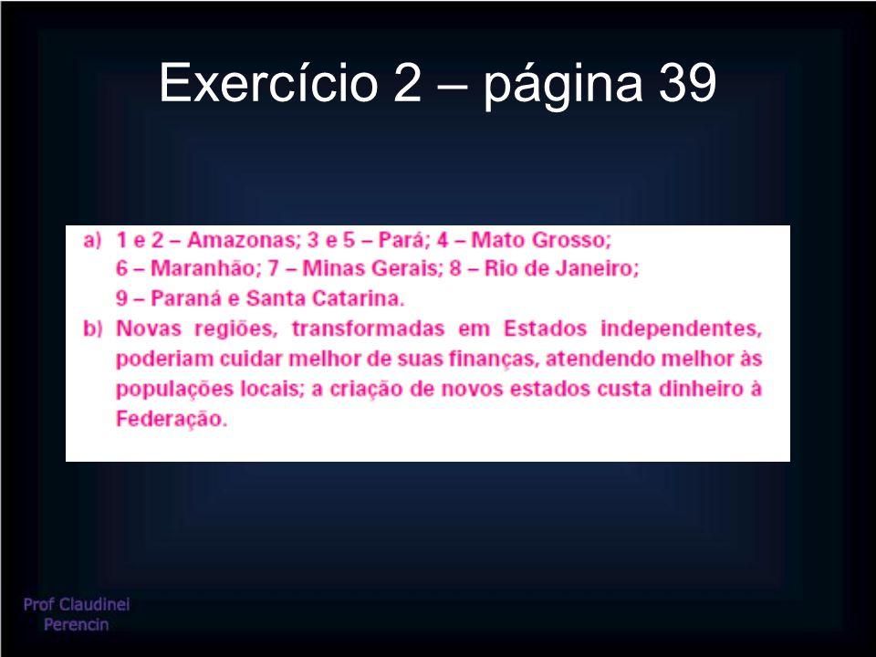 Exercício 2 – página 39