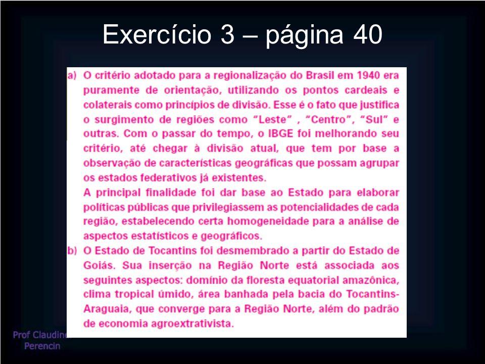 Exercício 3 – página 40