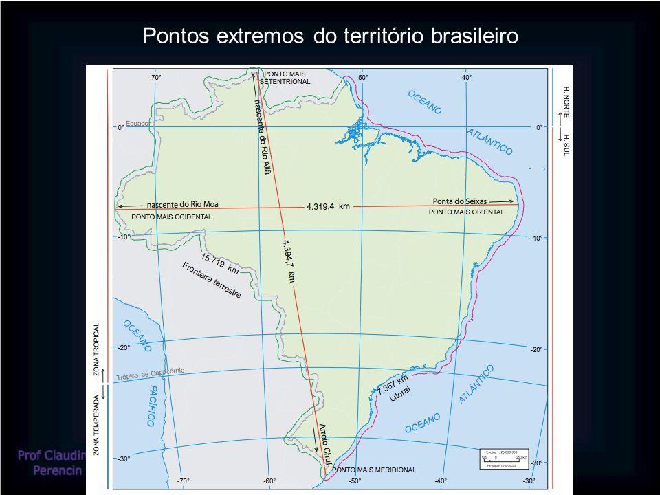 Pontos extremos do território brasileiro