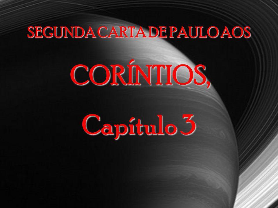 Segunda Carta de Paulo aos Coríntios, capítulo 2 13– Contudo, Tito, meu querido irmão, não estava lá para me encontrar e eu não pude descansar, procur