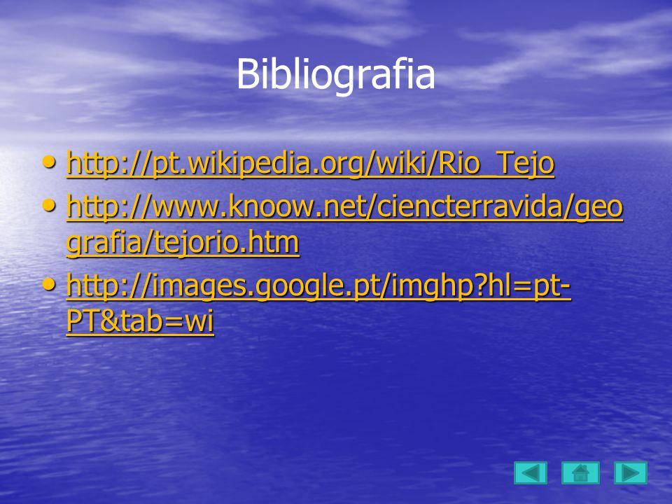 Bibliografia http://pt.wikipedia.org/wiki/Rio_Tejo http://pt.wikipedia.org/wiki/Rio_Tejo http://pt.wikipedia.org/wiki/Rio_Tejo http://www.knoow.net/ciencterravida/geo grafia/tejorio.htm http://www.knoow.net/ciencterravida/geo grafia/tejorio.htm http://www.knoow.net/ciencterravida/geo grafia/tejorio.htm http://www.knoow.net/ciencterravida/geo grafia/tejorio.htm http://images.google.pt/imghp?hl=pt- PT&tab=wi http://images.google.pt/imghp?hl=pt- PT&tab=wi http://images.google.pt/imghp?hl=pt- PT&tab=wi http://images.google.pt/imghp?hl=pt- PT&tab=wi