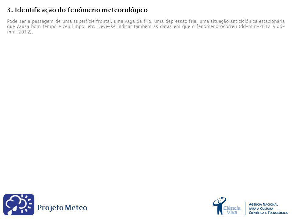 Projeto Meteo 3.