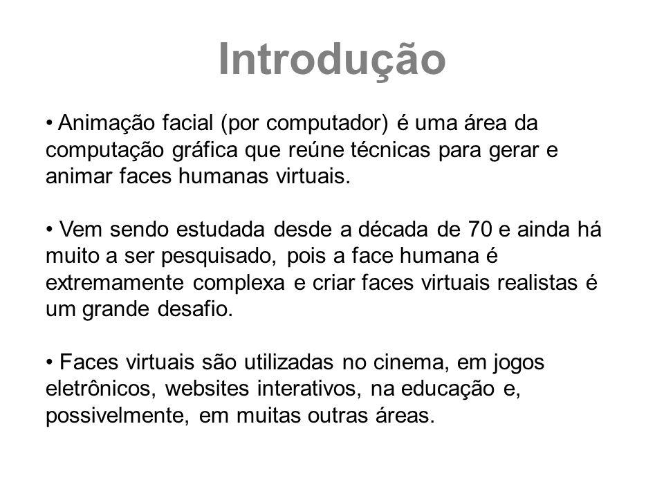 Animação facial (por computador) é uma área da computação gráfica que reúne técnicas para gerar e animar faces humanas virtuais. Vem sendo estudada de