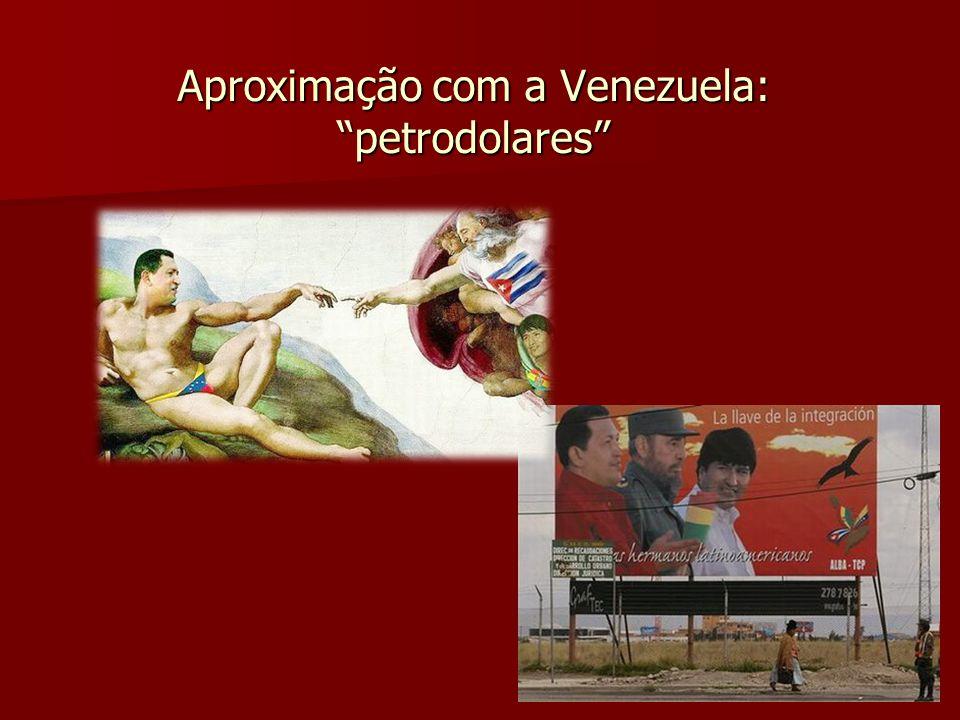 Aproximação com a Venezuela: petrodolares