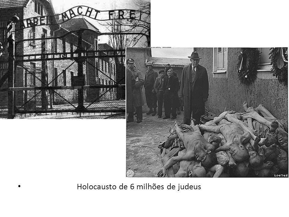Holocausto de 6 milhões de judeus