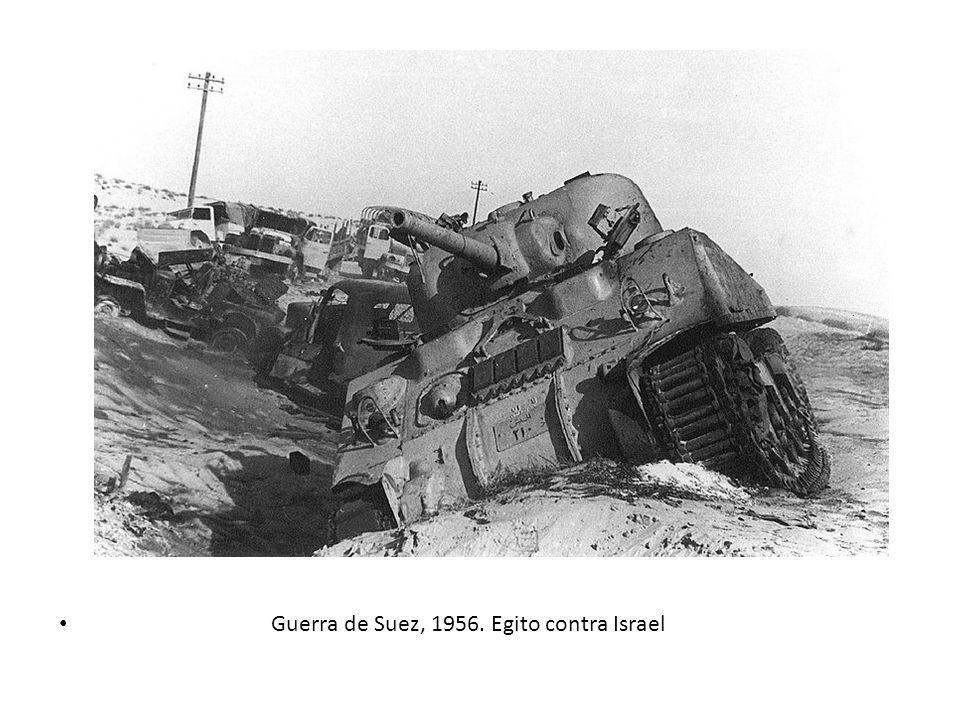 Guerra de Suez, 1956. Egito contra Israel