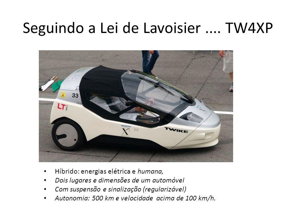 Seguindo a Lei de Lavoisier....
