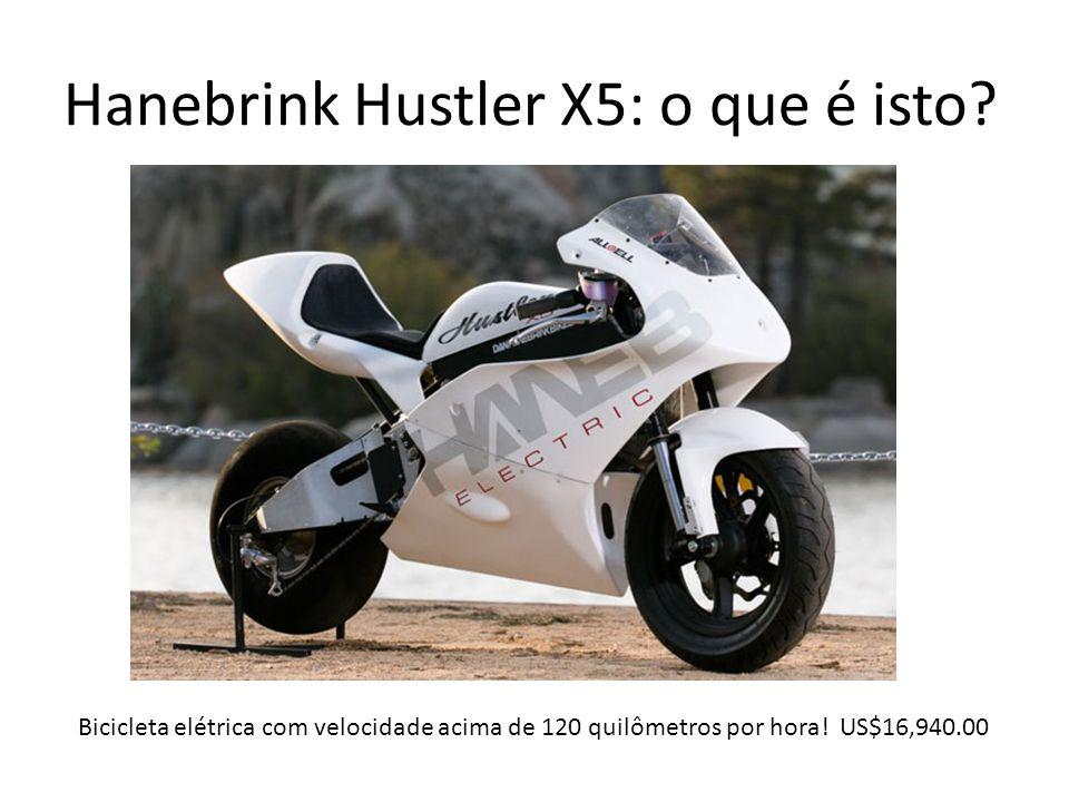 Hanebrink Hustler X5: o que é isto? Bicicleta elétrica com velocidade acima de 120 quilômetros por hora! US$16,940.00