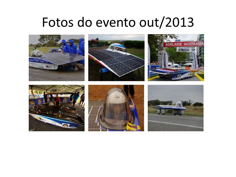 Fotos do evento out/2013