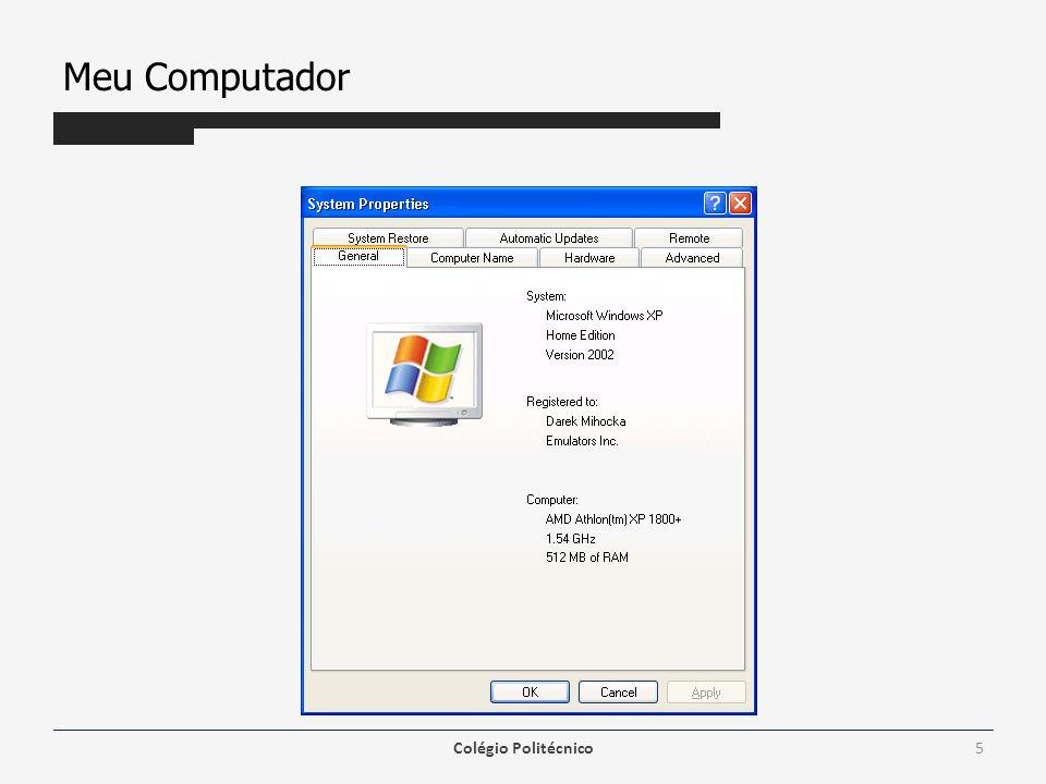 Estrutura de Diretórios Windows Explorer – tem a mesma função de organizar o disco e possibilitar trabalhar com os arquivos fazendo, por exemplo, cópia, exclusão e mudança no local dos arquivos.
