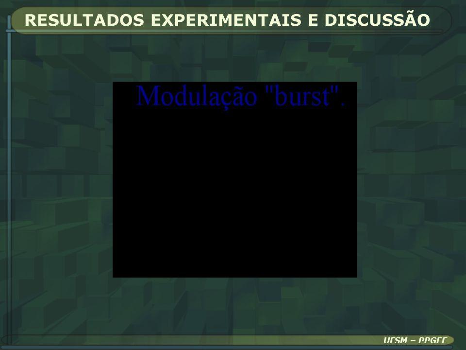 RESULTADOS EXPERIMENTAIS E DISCUSSÃO UFSM – PPGEE