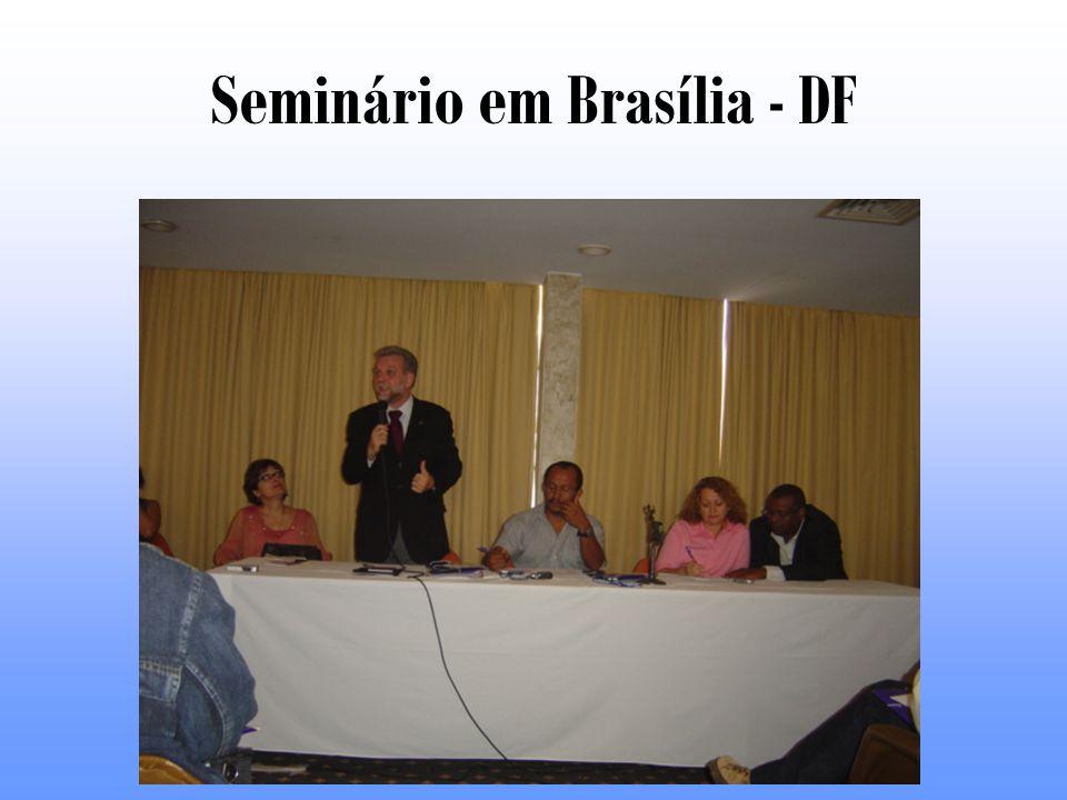 Seminário em Brasília - DF