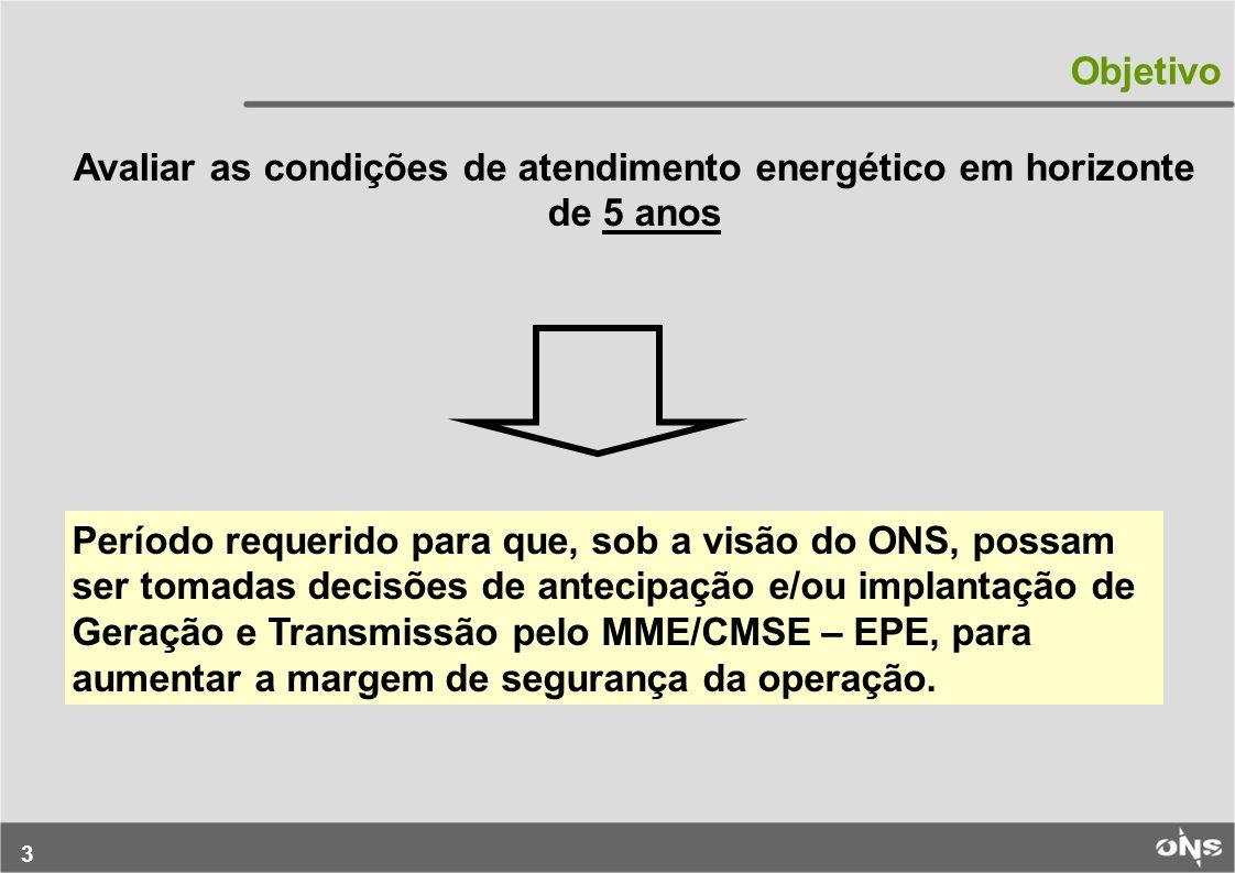 24 Característica das Afluências – Importância do Período Úmido para Garantir o Atendimento Região ENA Anual (MWmed) Mês ENA (MWmed) % ENA Anual SE/CO393.034 Dez – Abr 239.25661 NE99.66967.30768 Norte72.81650.97770 Sul92.080Jun – Out46.87551