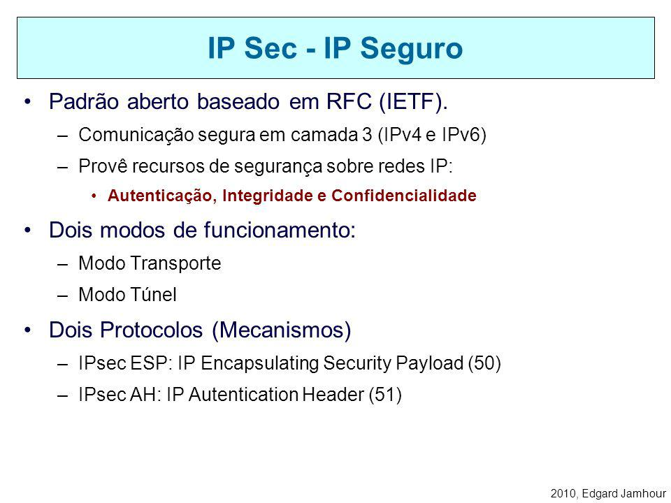 2010, Edgard Jamhour Iniciada pelo Servidor de Acesso a Rede (NAS) PSTN INTERNET ISP EMPRESA USUÁRIO REMOTO PPP TUNEL PROVEDOR DE ACESSO A INTERNET RE