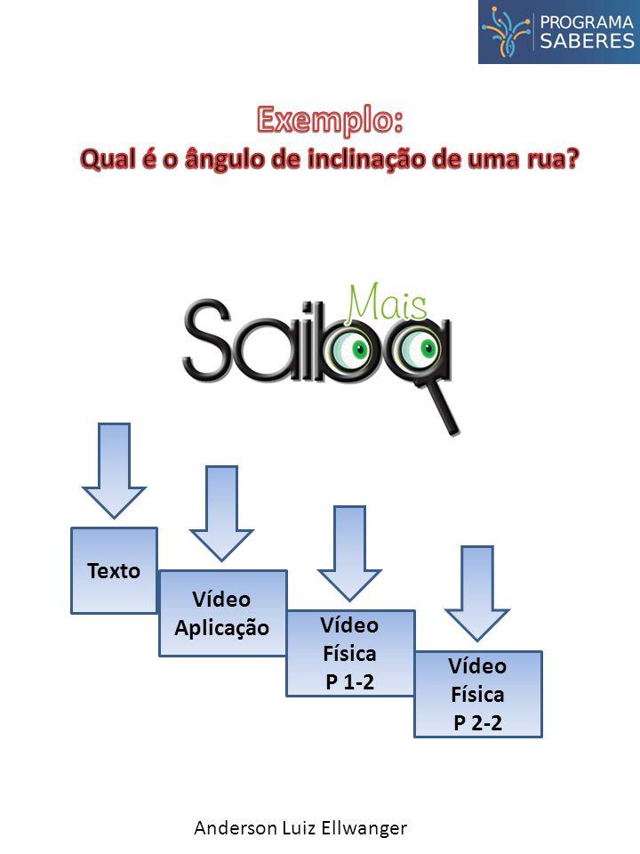 Texto Vídeo Aplicação Vídeo Física P 1-2 Vídeo Física P 2-2