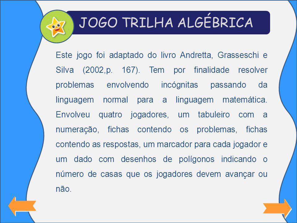 Este jogo foi adaptado do livro Andretta, Grasseschi e Silva (2002,p.
