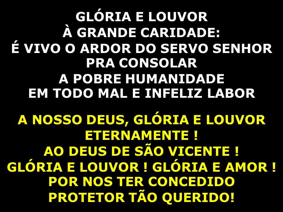 GLÓRIA E LOUVOR.