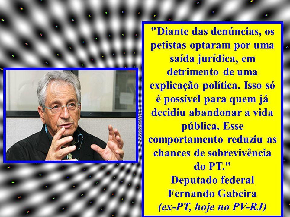 O que ex-petistas e petistas desiludidos dizem hoje a respeito do partido e de Lula O PT tem todo o direito de continuar existindo juridicamente, mas o partido que eu ajudei a construir já morreu.