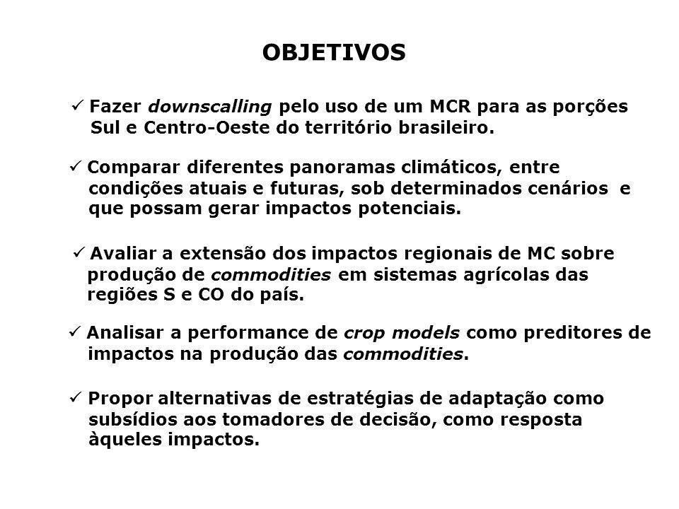 ANOMALIAS SAZONAIS (MAM) DE PRECIPITAÇÃO (A2 – BL)