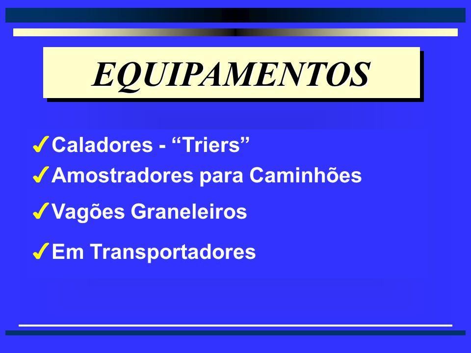 AMOSTRAGEM DE SACARIAS EM LOTES