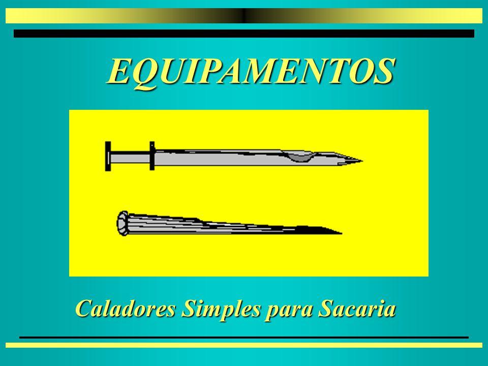 EQUIPAMENTOS EQUIPAMENTOS 4 4Caladores - Triers 4 4Amostradores para Caminhões 4 4Vagões Graneleiros 4 4Em Transportadores