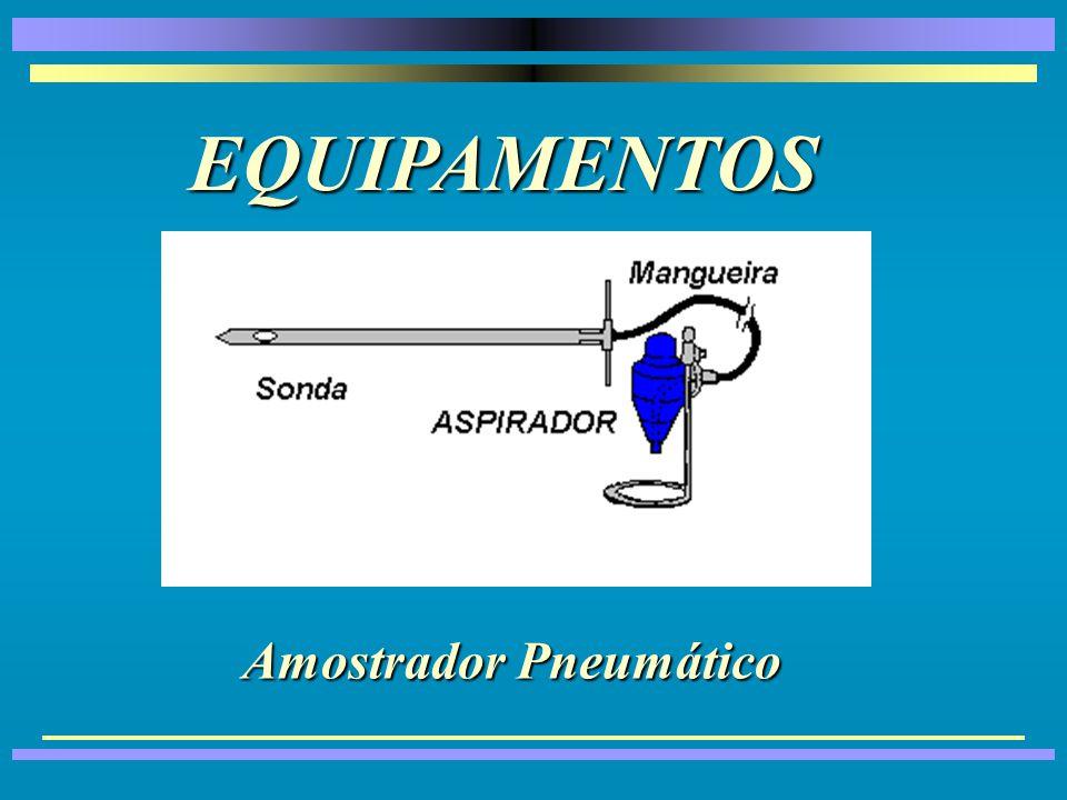Amostradores para Caminhões e Vagões Amostrador Pneumático Fíxo
