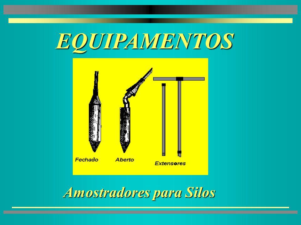 EQUIPAMENTOS EQUIPAMENTOS 4 4Amostradores para Unidades Armazenadoras à Granel 4 4Divisor de Amostras