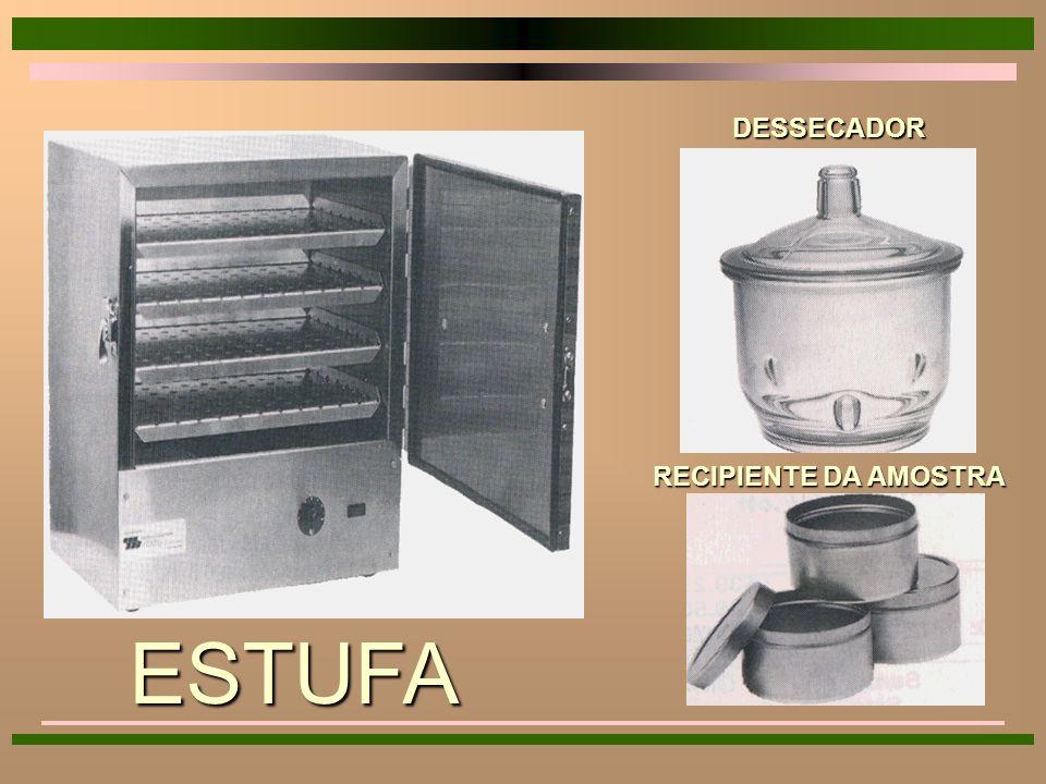 Método da Estufa Método da Estufa 4 Estufa Sob Pressão Atmosférica 4 Estufa a Vácuo