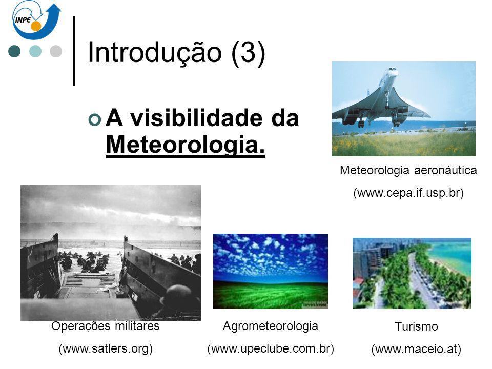 Introdução (4) Uma nova era para a Oceanografia: Novas demandas.