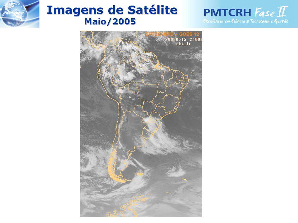 Imagens de Satélite Imagens de SatéliteMaio/2005