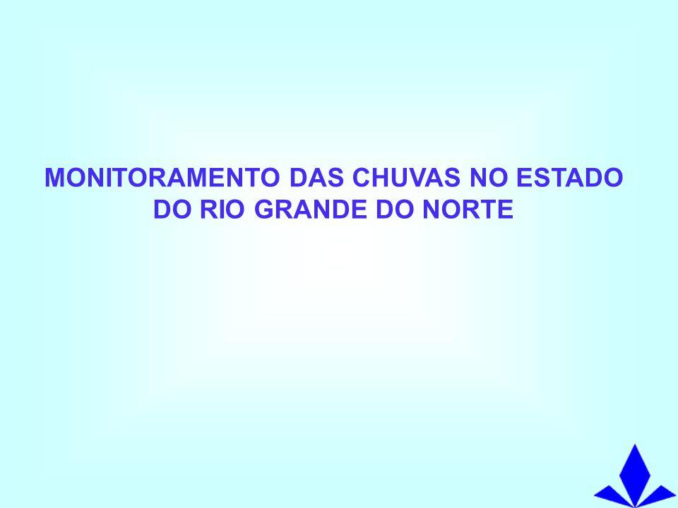 MONITORAMENTO PLUVIOMÉTRICO NO RIO GRANDE DO NORTE