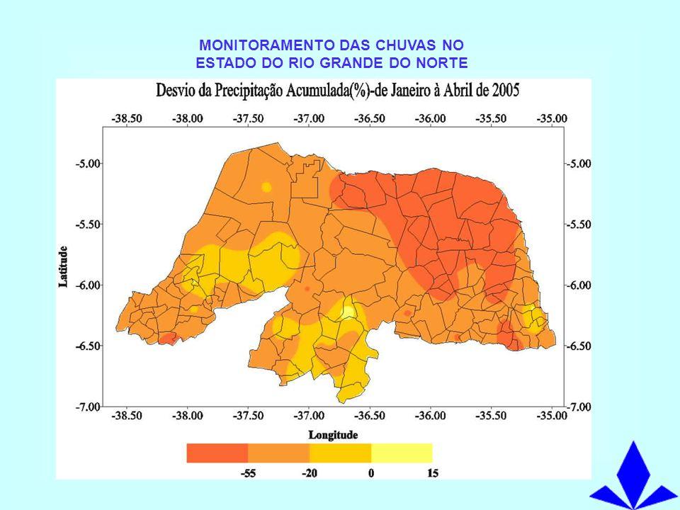 LOCALIZAÇÃO DOS PRINCPAIS AÇUDES DO RIO GRANDE DO NORTE