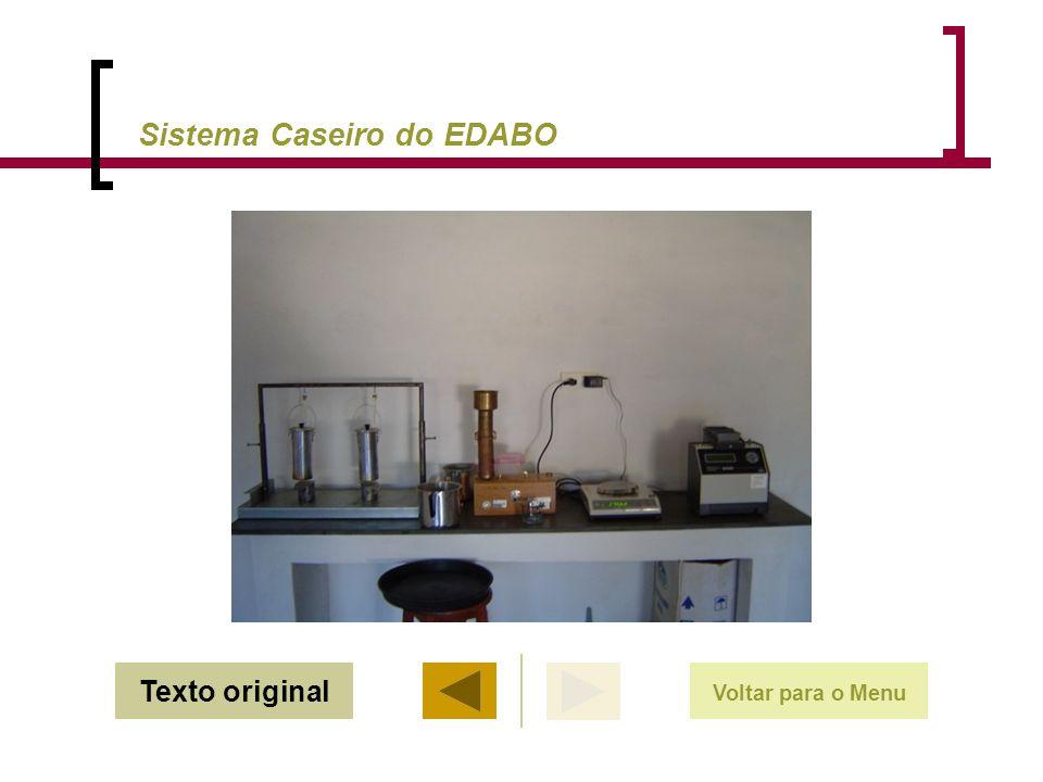 Sistema Caseiro do EDABO Voltar para o Menu Texto original