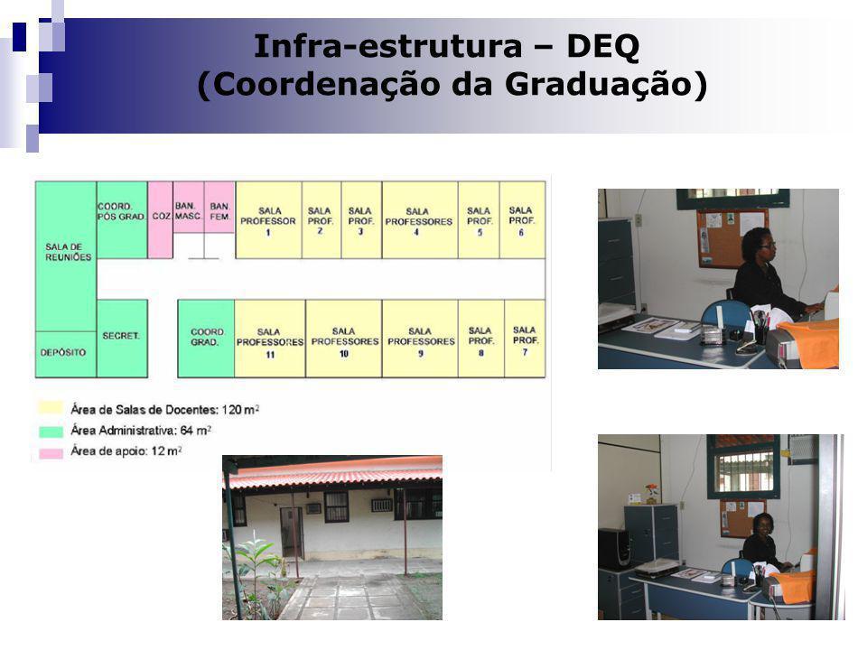 Dilma A Costa Infra-estrutura – DEQ (Coordenação da Graduação)