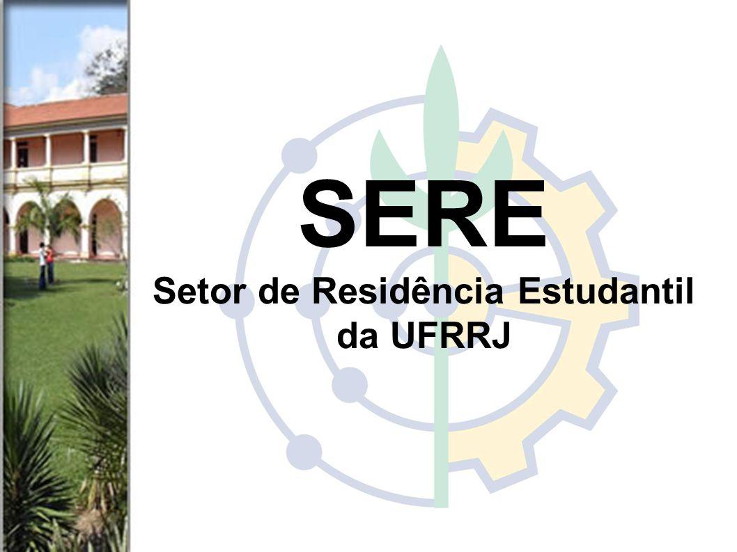 SERE Setor de Residência Estudantil da UFRRJ