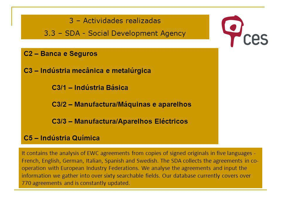 3 – Actividades realizadas 3.4 - Gender related issues.