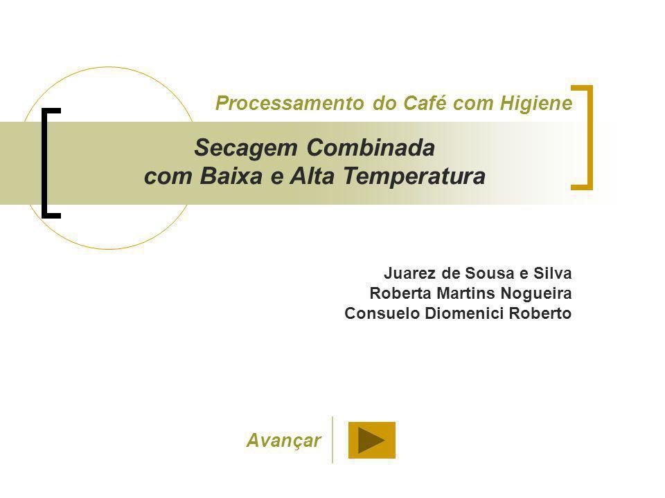 Juarez de Sousa e Silva Roberta Martins Nogueira Consuelo Diomenici Roberto Processamento do Café com Higiene Secagem Combinada com Baixa e Alta Tempe