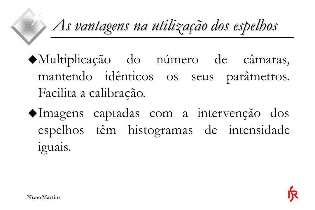 Nuno Martins u Multiplicação do número de câmaras, mantendo idênticos os seus parâmetros.